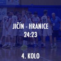 HBC Ronal Jičín - Cement Hranice 24:23
