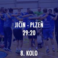 HBC Ronal Jičín - Talent ROBSTAV-M.A.T. Plzeň 29:20 (15:10)